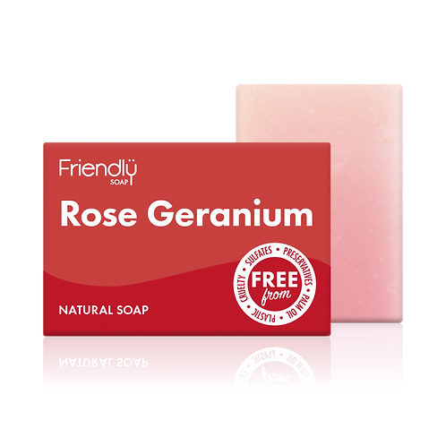 Friendly Soap - ROSE GERANIUM
