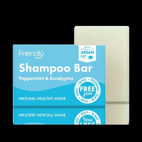 Friendly Soap Shampoo Bar – peppermint-eucalyptus