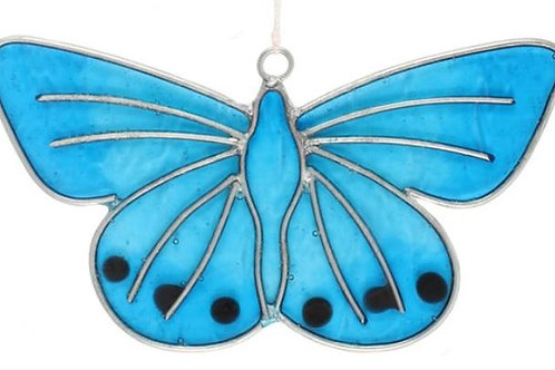 ButterflySun Catcher -Rainbows in your Windows- Glass Rainbow Catcher- Crystal C