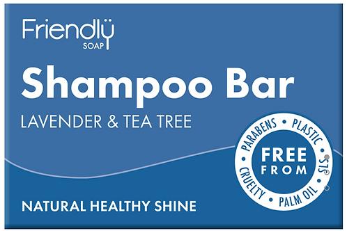 Friendly Soap Shampoo Bar – LAVENDER & TEA TREE