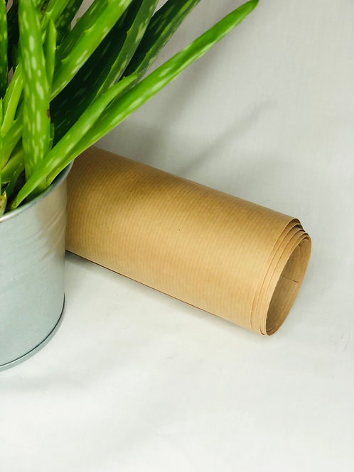 Biodegradable brown wrapping paper