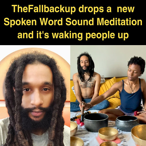 Planets Aligned - A Spoken Word Sound Meditation by @thefallbackup