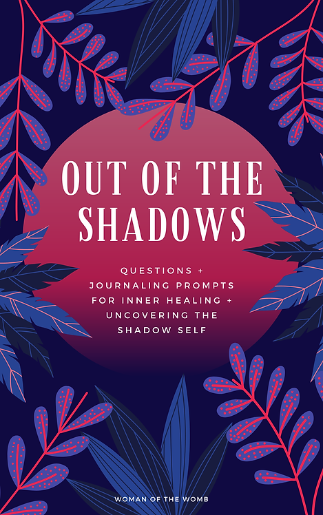 Out of the Shadows: Shadow Work Workbook (e-book)