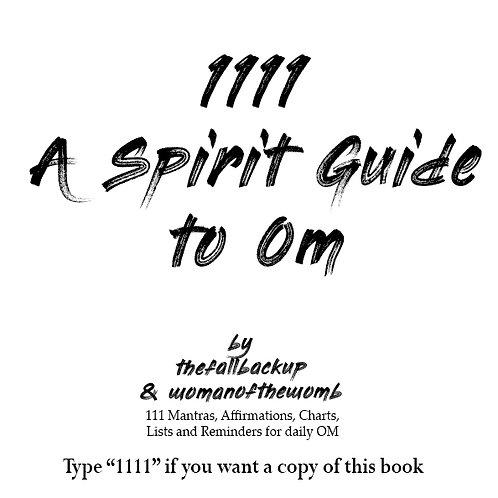 1111 A Spirit Guide to Om (e-book)
