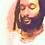 Thumbnail: Throat Chakra Meditation Collar  - thick copper wrapped labradorite