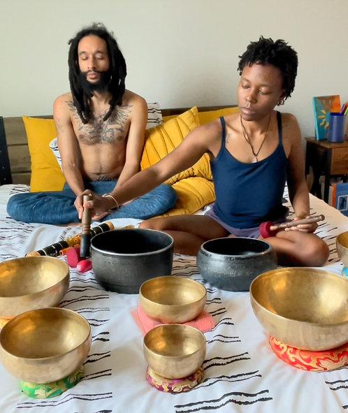 11 Min Guided 111 MANIFESTATION Sound Bath Meditation by The Meditation Family