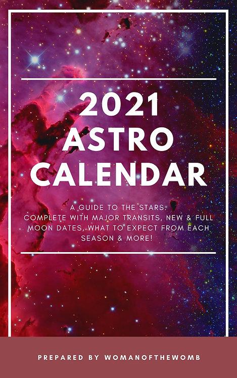 2021 AstroCalendar - Ebook