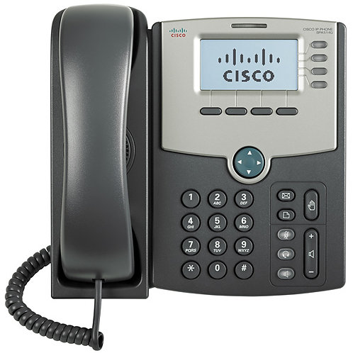 Cisco 4-Line IP Phone with 2-Port Gigabit SPA-514G