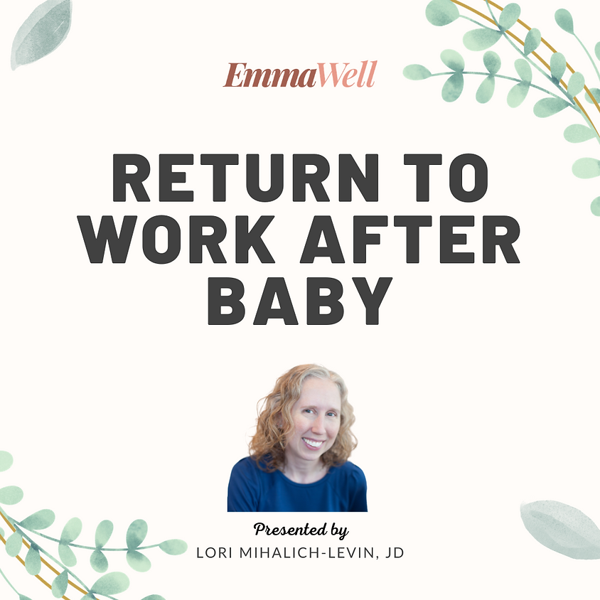Return to Work After Baby