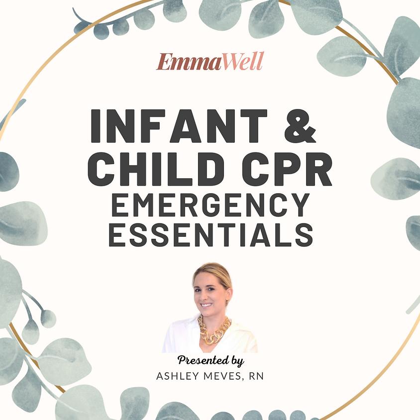 Infant & Child CPR: Emergency Essentials