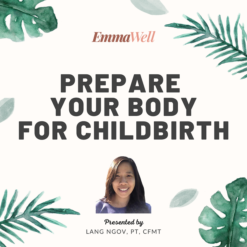 Prepare Your Body for Childbirth