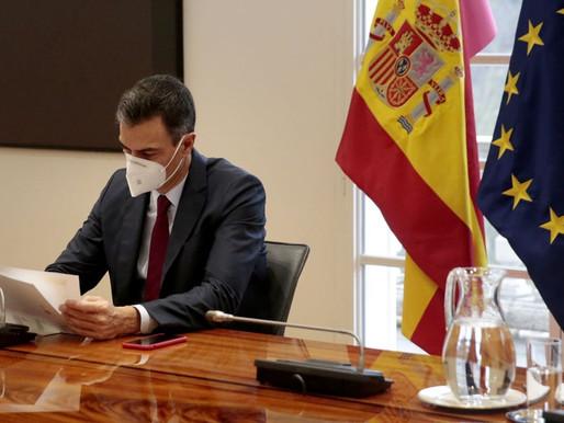 Presidente de España desea pronta recuperación a López Obrador.
