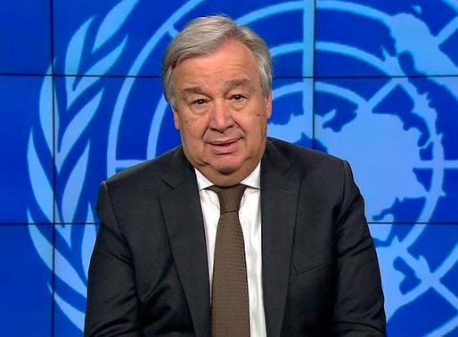 El planeta enfrenta una crisis histórica; el covid-19 lo ha puesto de rodillas: ONU.