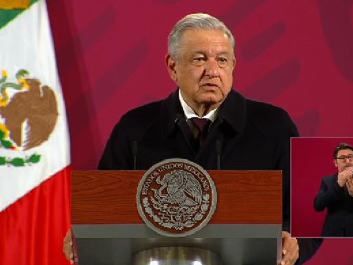 Afirma AMLO que México vive una degradación y decadencia en la vida pública.