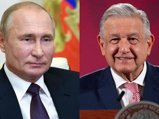 """""""El dictatorial Putin es el nuevo mejor amigo de AMLO"""", publica Washignton Post."""