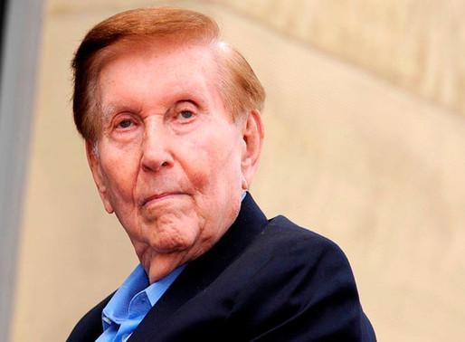Dueño de Paramount Pictures, CBS y MTV, Sumner Redstone; muere a los 97 años.