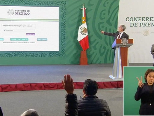Hay y habrá vacunas para todos, promete López Gatell.