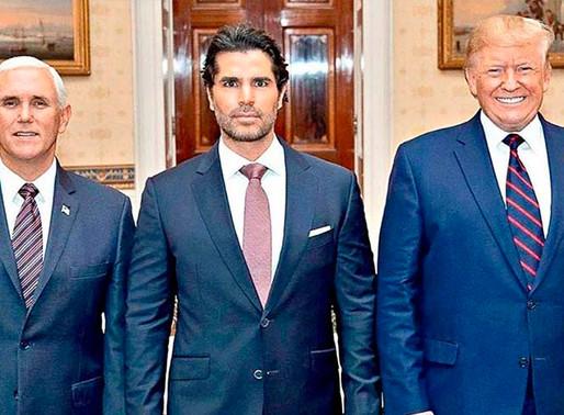 El actor mexicano, José Eduardo Verástegui, asesor de Donald Trump.