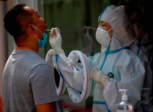Inevitable, una segunda ola de contagios de covid-19 en China: Experto.