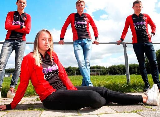 Ellen Fokkeman será la primera jugadora en un equipo masculino de Futbol.