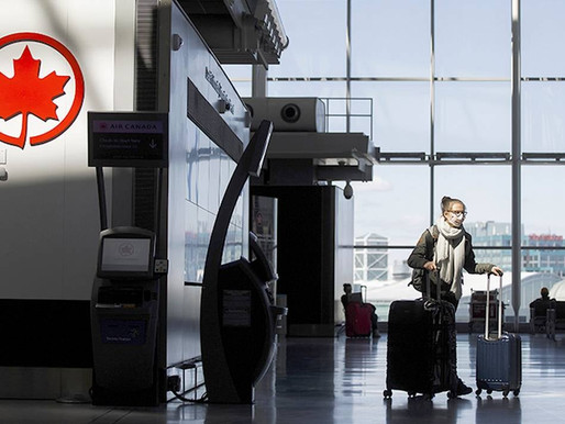 Canadá exigirá prueba negativa de covid a todos los viajeros.