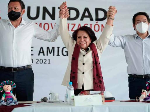 Otorgan a candidata de MORENA una pensión de 157 mil pesos al mes.