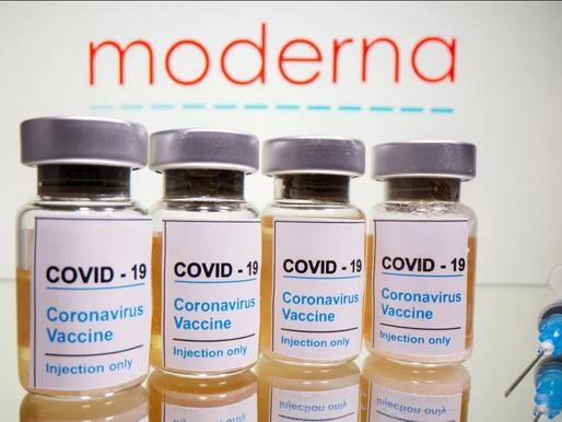 Moderna asegura 100 por cierto de efectividad en su vacuna para casos muy graves.