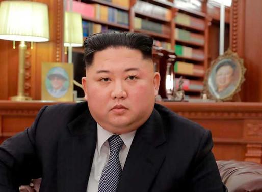 Inusual disculpa del líder de Corea del Norte.