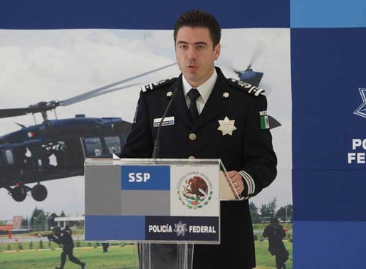 Orden de aprehensión contra ex director de seguridad de la Policía Federal.