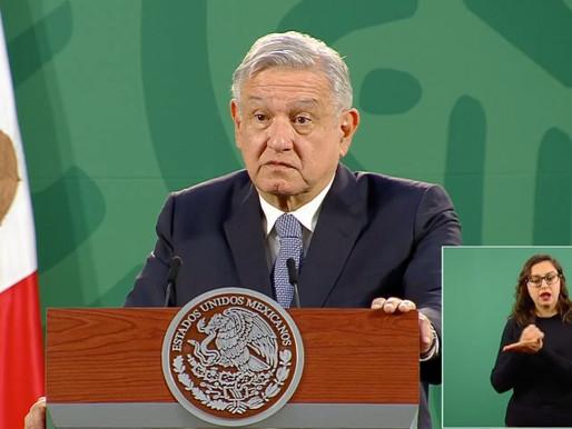 Queremos cooperación para el desarrollo, no equipo militar, asevera AMLO.