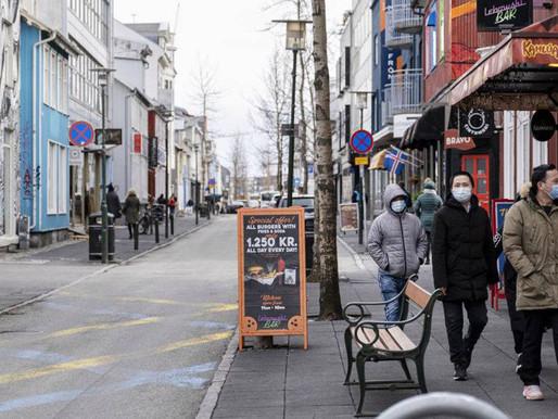 Con casi cero casos de coronavirus, Islandia vuelve a la normalidad.