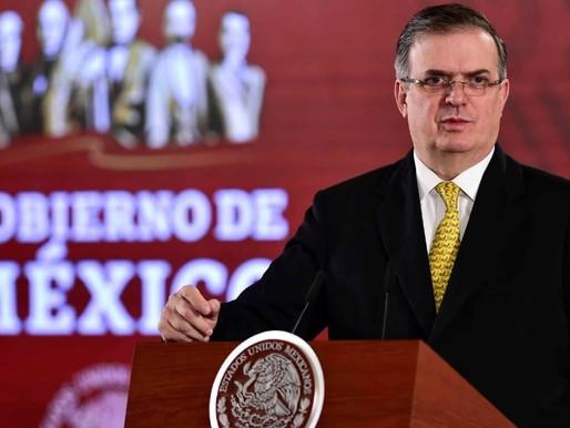 Habrá buena relación con EU: Marcelo Ebrard.