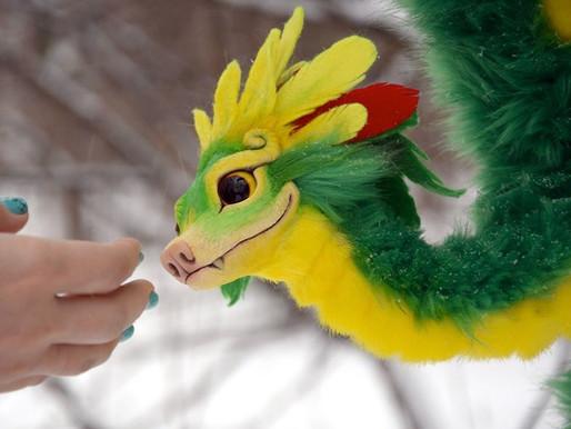 """Llega """"Baby Quetzalcóatl"""" y roba corazones en las redes."""