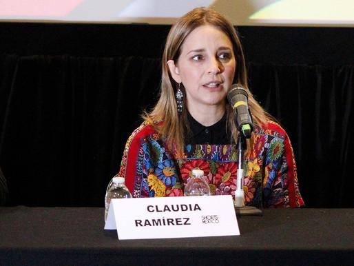 Si el presidente no da el ejemplo, nada cambiará: Afirma la actriz Claudia Ramírez.