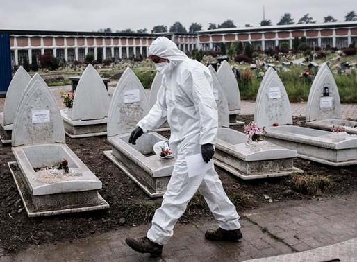 OMS prevé que pandemia de covid-19 empeore y que muertos aumenten en Europa.