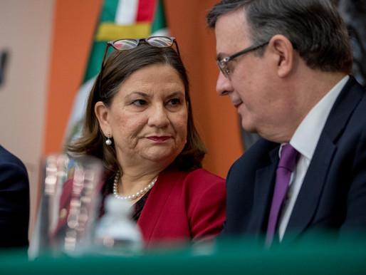 """Anuncia embajadora de México en Estados Unidos su próximo """"Retiro""""."""