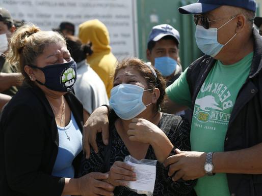 Focos Rojos en CDMX: Saturados 19 de 44 hospitales por aumento de covid.