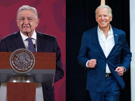 AMLO afirma que aun no es tiempo para pronunciar la victoria de Joe Biden en EU.
