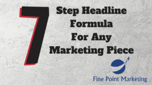 7 Step Headline Formula