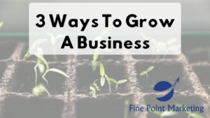 3 Ways To Grow A Business
