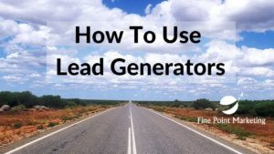 How to Use Lead Generators in a Marketing System