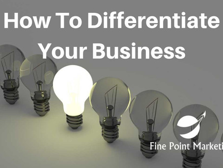 How To Differentiate Your Business – 3 Categories of Innovation