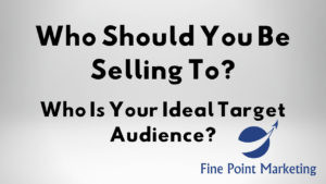 Who is your ideal target audience? And Who do you sell to?