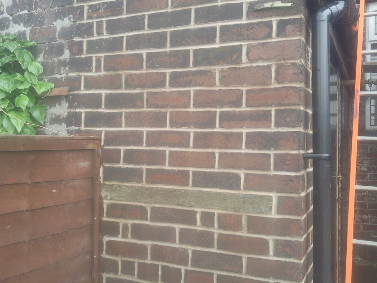 Before, during and after repointing