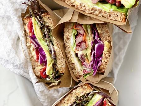 Vegan Sandwiches 2 ways