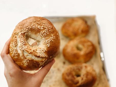 6 ingredient bagels