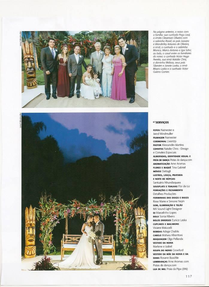 Materia Revista inesquecivel casamento