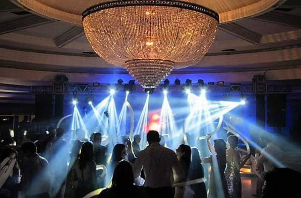Salão azul clube curitibano