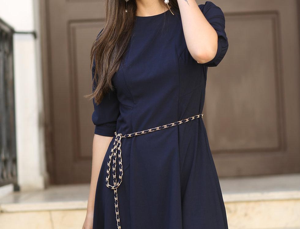 שמלת אורן נייבי