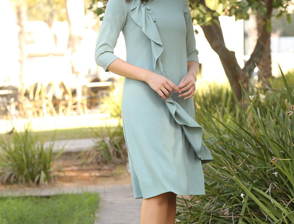 שמלת ליאל מנטה